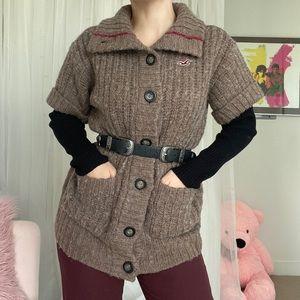 Hollister Sweater 50%Wool